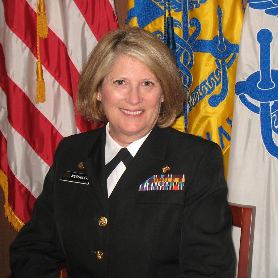 Photo of RADM Kerry Paige Nesseler, Directory of the Office of Global Health at HRSA