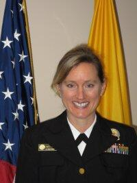 Photo of Rear Admiral Sarah Linde, Chief Public Health Officer at HRSA