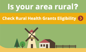 Is your area rural? Check Rural Health Grants Eligibility