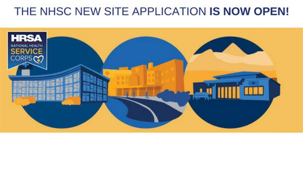 The NHSC new site application is now open!