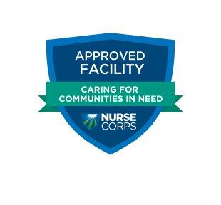 Approved NHSC Facility badge