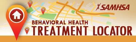 SAMHSA Behavioral treatment Locator