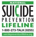 national suicide prevention lifeline gaphic